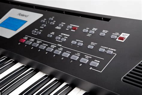 roland bk  bk backing keyboard schwarz    store leipzig