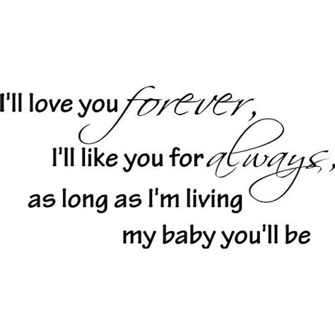Baby I You Quotes by Always And Forever I You Baby Quotes Quotesgram