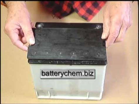 reconditioning sealed leadacid automotive batteries youtube