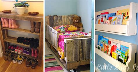 Diy Childrens Bedroom Furniture 20 Incredibly Useful And Adorable Pallet Furniture Inspirations Diy Projects