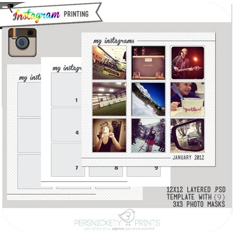 instagram templates for photoshop photoshop instagram template photoshop stuff pinterest
