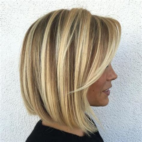 highlights with blonde and dark on chin length hair 70 winning looks with bob haircuts for fine hair