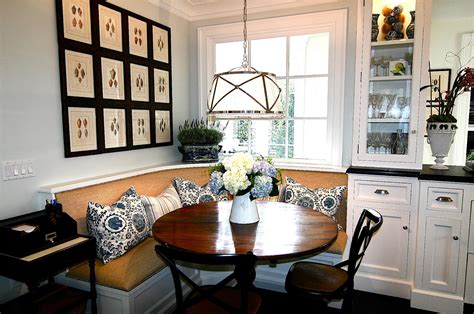banquette in kitchen classic casual home banquettes everyones favorite