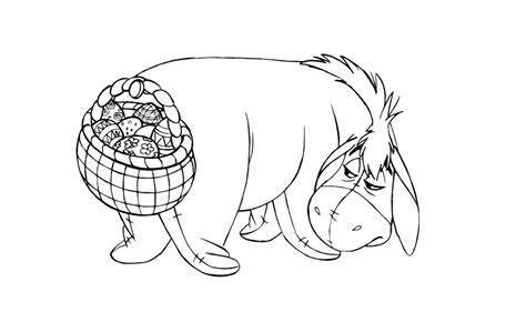 free printable easter coloring pages disney