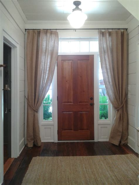 Front Door Sidelights Curtains 17 Best Ideas About Sidelight Curtains On Front Door Curtains Spare Bedroom Ideas