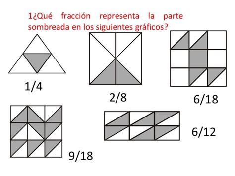figuras geometricas fracciones fracciones