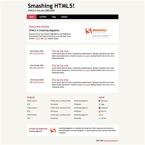format video html5 firefox coding an html 5 layout from scratch smashing magazine