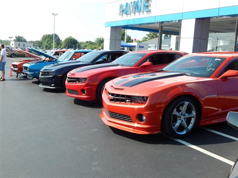 payne chevrolet city camaro club dominates payne chevrolet camaro