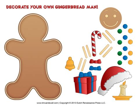 printable gingerbread man activities gingerbread man template clipart coloring page for kids
