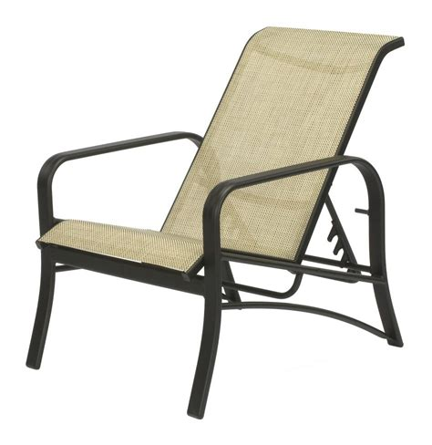 Aluminum Patio Chairs Furniture Shop Allen Roth Gatewood Count Brown Aluminum Patio Dining Aluminum Chairs Patio