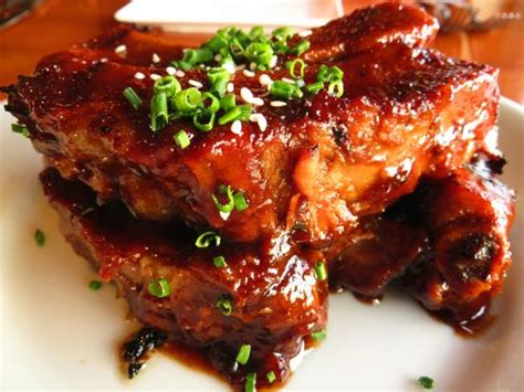 hawaiian fusion cuisine szechuan spiced sork ribs appetizer picture of roy s