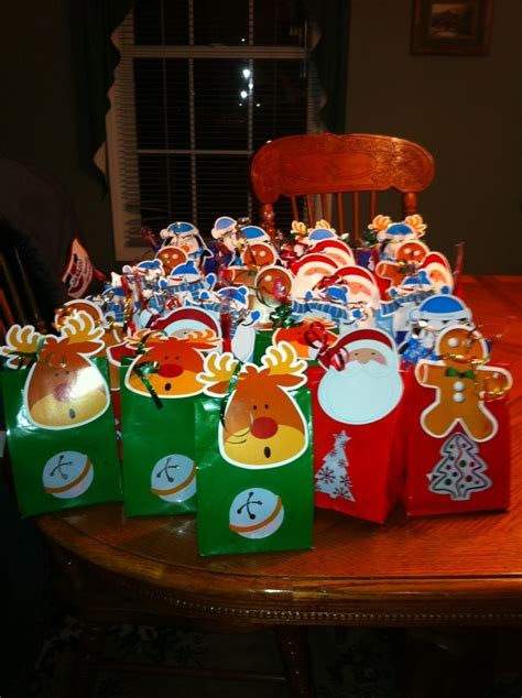 christmas goodie bags kids pinterest goodie bags