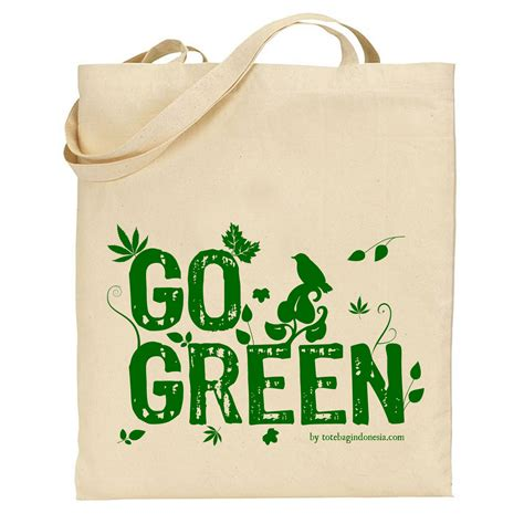 Indonesia Tote Bag go green tote bag indonesia