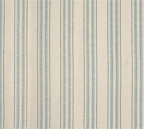hadley curtain shop hadley seaspray blue stripe linen mix upholstery fabric