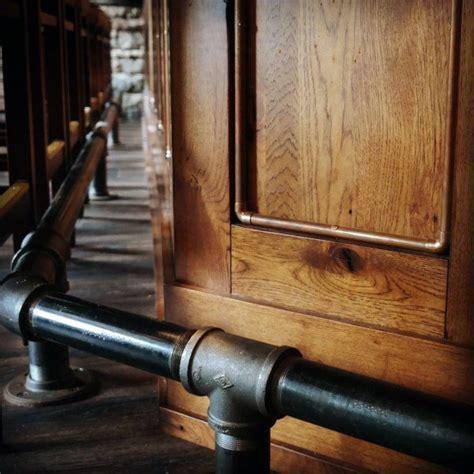 top   bar foot rail ideas home saloon designs