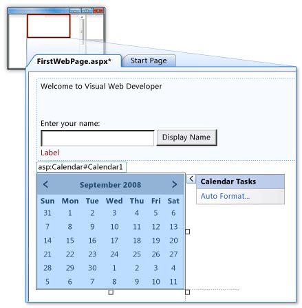 tutorial asp dot net adding an asp dot net control tutorial