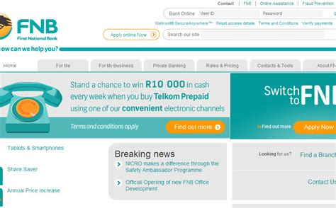 fnb mobile fnb mobile banking app for android iphone
