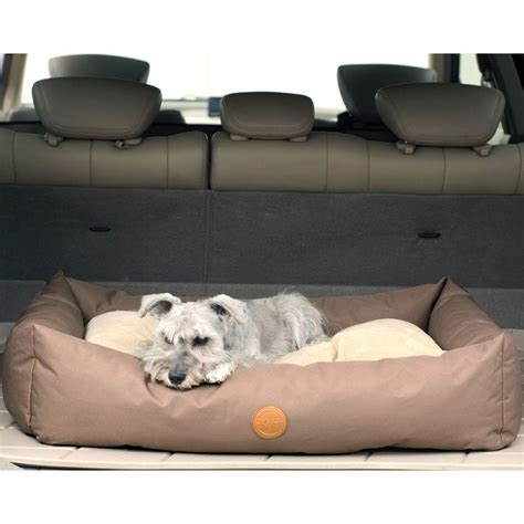 large pet bed k h pet products travel suv large tan pet bed 7611 the