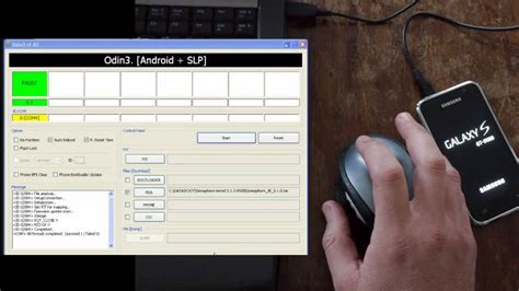 tutorial flash kernel tutorial flash a kernel or stock rom with odin sgs1