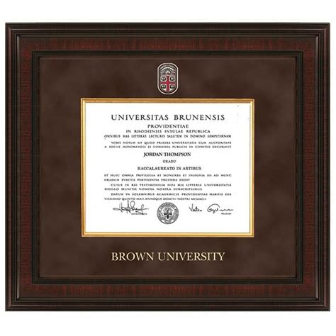 Ie Brown Mba Diploma by Brown Diploma Frame Excelsior Graduation Gift