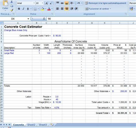 project management effort estimation template estimate template