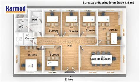 arri鑽e plan de bureau bureaux pr 233 fabriqu 233 e 136m 178 bungalow bureau bureau