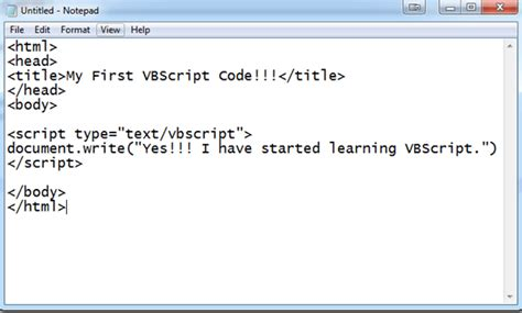 video tutorial vbscript introduction to vbscript shoutmeloudhere