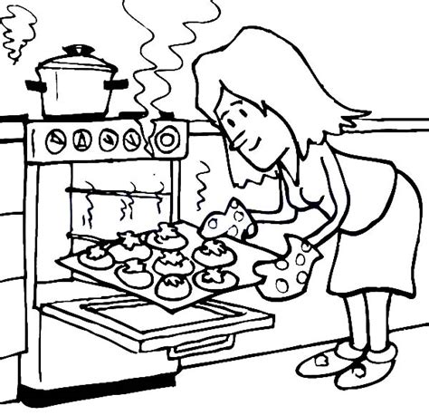 free bake cake coloring pages
