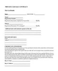car sale contract template doc 12751650 owner car sale contract used car