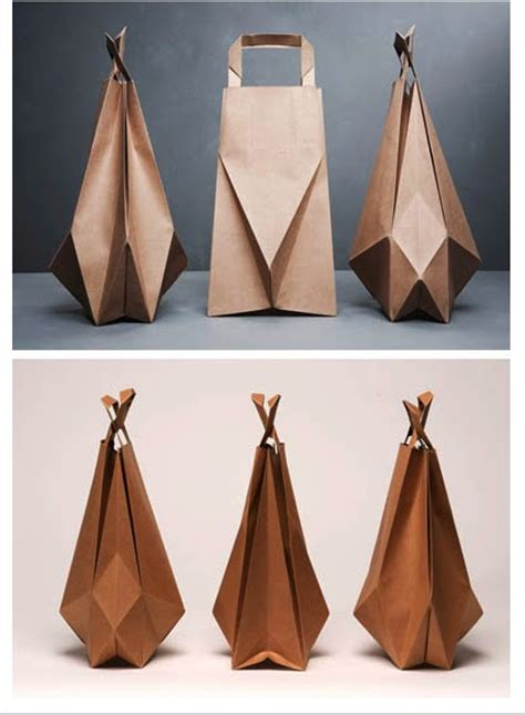 Paper Bag Folding - nauli friday favourites origami brown paper bags by ilvy