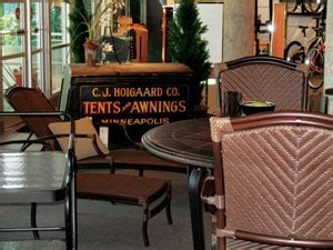hoigaards awnings hoigaard s steps it up with new location casual living