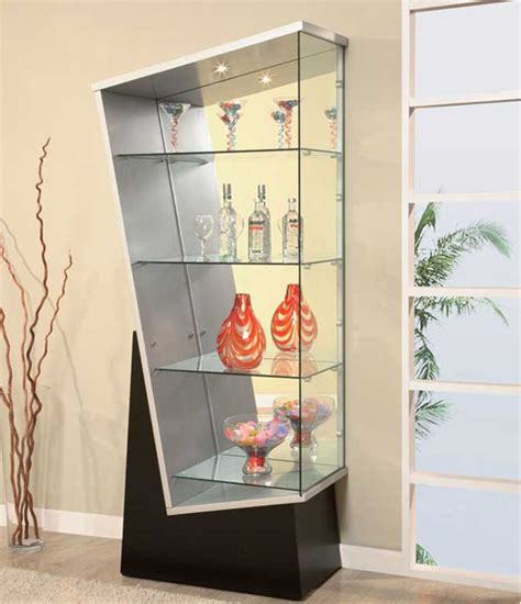 white corner display cabinet dadka modern home decor and space saving furniture for