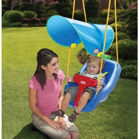 Little Tikes Sun Safe Swing Canopy Playground Outdoor