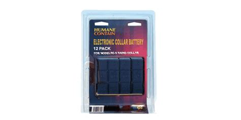 package   radio collar batteries  pack case packaged