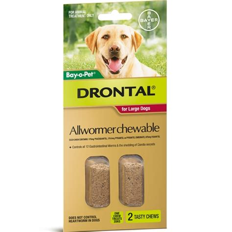 deworming medicine for puppies drontal dewormer chews
