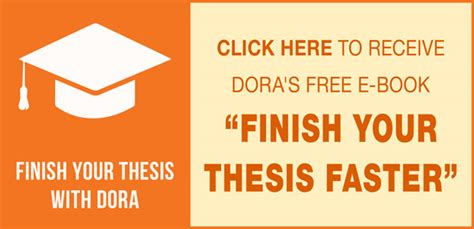 finish thesis five steps to writing a thesis