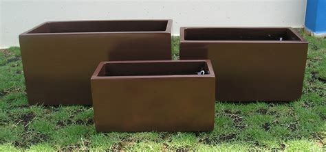 planters glamorous large rectangular planters large