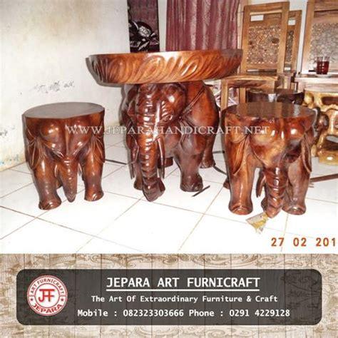 Kursi Gajah jual kursi tamu unik gajah