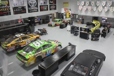 Garage View Picture Of Joe Gibbs Racing Huntersville