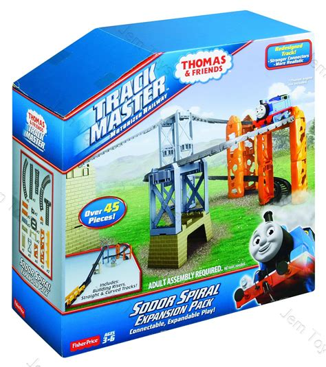 Tomase And Friends Set the tank engine trackmaster sodor spiral track