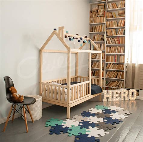 Childrens Handmade Beds - house bed frame bed size bed house