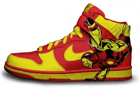 tattoo shoos the coolest and geekiest custom nike sneakers you ll