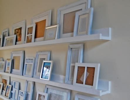 picture ledge ideas ledge shelf 15 simple but awesome diy shelf ideas