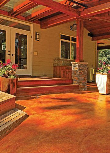 10 Pk Teak Patio Flooring - 17 best images about oh what you can do with concrete on