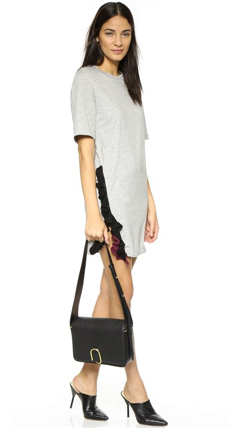 31 Phillip Lim Bag Shoulder Tote by 3 1 Phillip Lim Alix Flap Shoulder Bag In Black Lyst
