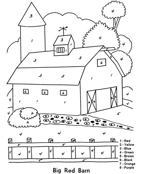color by number coloring pages easy adult color by numbers best coloring pages for kids