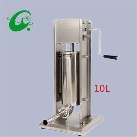 buy manual stainless steel vertical sausage stuffer maker