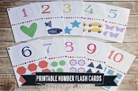make a picture card for toddlers free flash cards