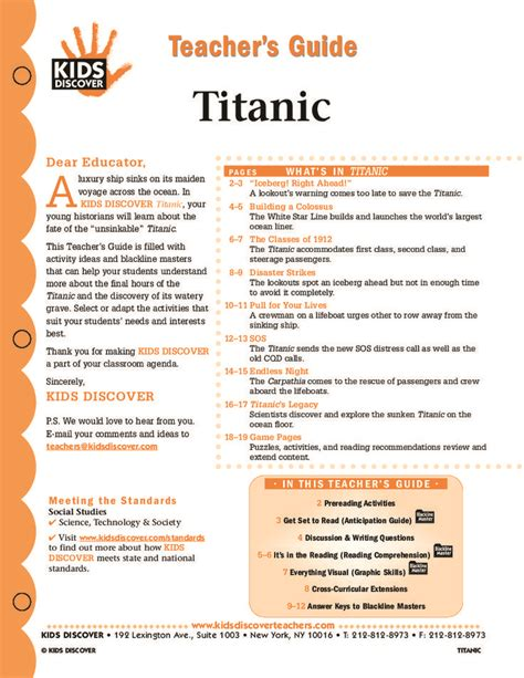 printable titanic quiz titanic kids discover you have to register free with