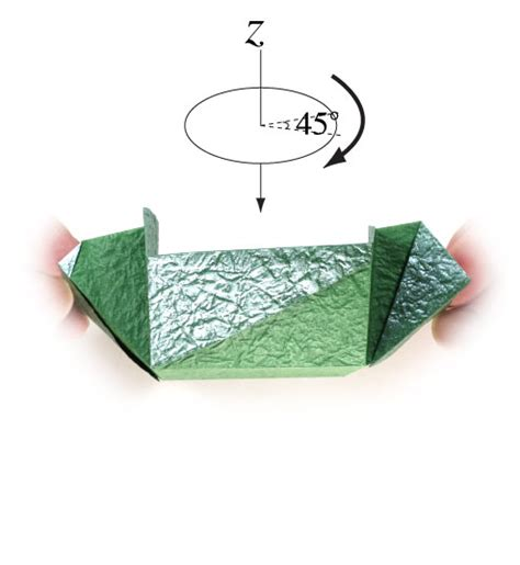 How To Make A Paper Square Box - how to make a medium square origami box page 9